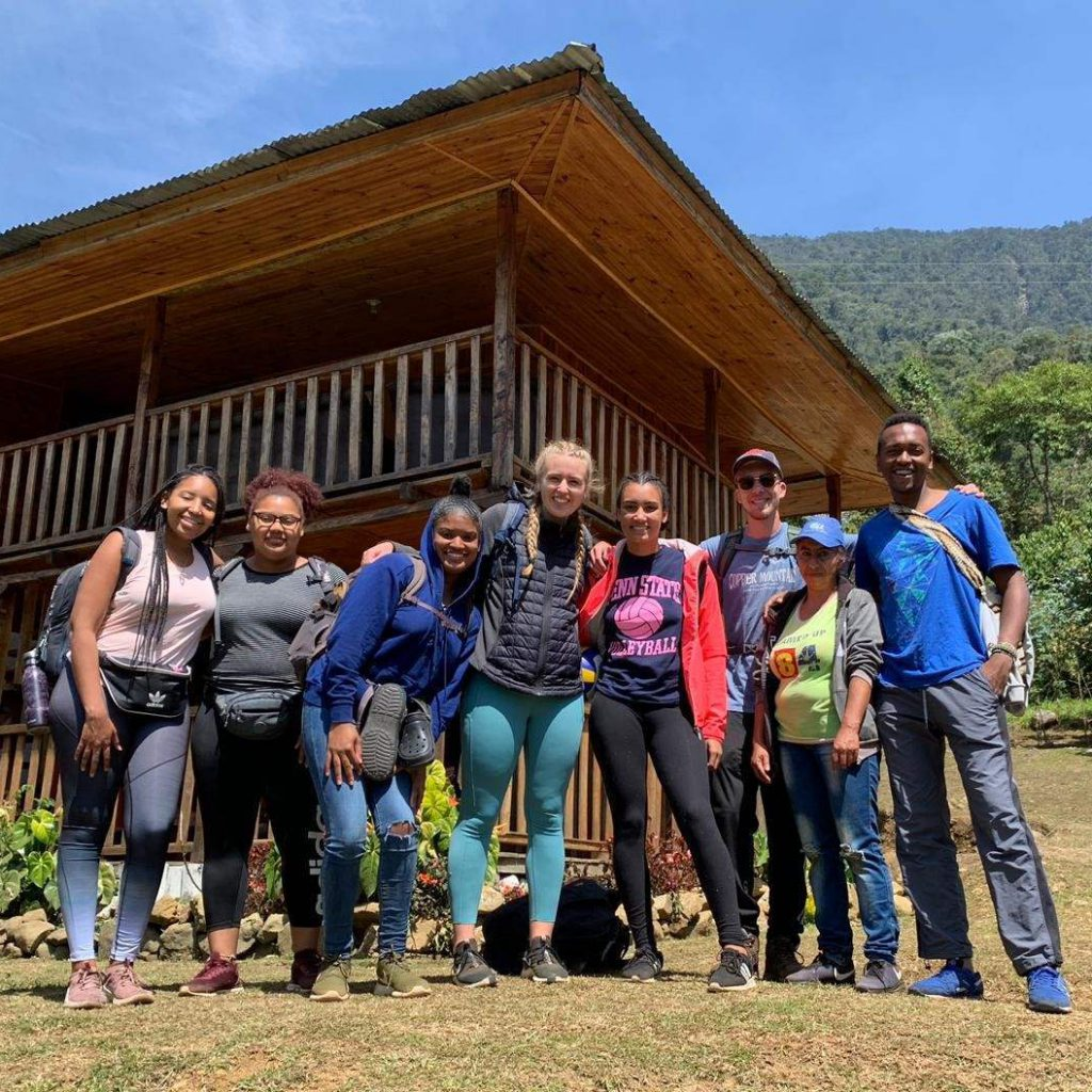 Three Kalamazoo College students participate in the CET Colombia program (Fall 2019)